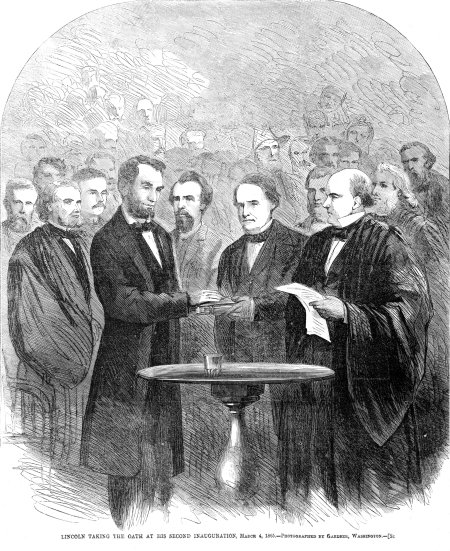 Lincoln_taking_the_oath_at_his_second_inauguration